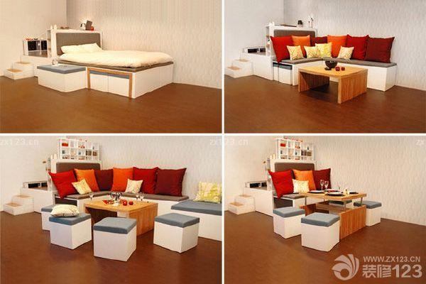 一個空間中,所占的物品越多,就會顯得越擁擠。臥室空間通常都比較小,但是需要置放的家具卻不少。怎么樣解決家具多空間小的問題呢?臥室組合家具由此應運而生,讓臥室裝修更加簡單方便。 臥室組合家具:特點 臥室組合家具是將幾件功能不同的臥室家具組合在一起,除了臥室家具外,還包括辦公組合家具、多功能組合家具等等。制作時需組合式家具加一些連接用的金屬構件,可以省去不少的撐、柱、壁、頂板、底板。拆裝、搬運都很方便,看似龐然大物,拆散搬運一人即可完成。 臥室組合家具:優勢 空間占用少:臥室組合家具讓家居風格整體化,而且生活